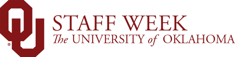 OU Staff Week, The University of Oklahoma website wordmark