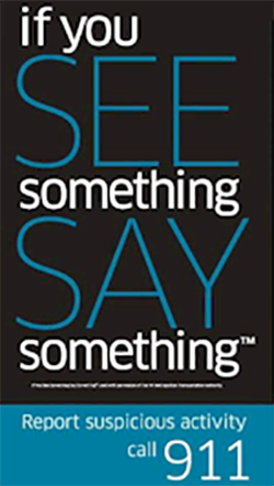 if you see something, say something 250x442