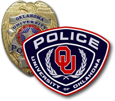 Graphic -- OUPD Patch over Badge