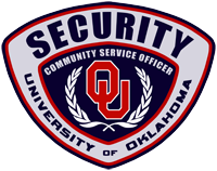 OUPD's Security (Community Service Officer) patch/logo