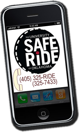 SafeRide -- Call 325-RIDE (325-7433)