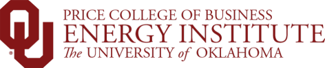 Price College of Business, Energy Institute, The University of Oklahoma website wordmark