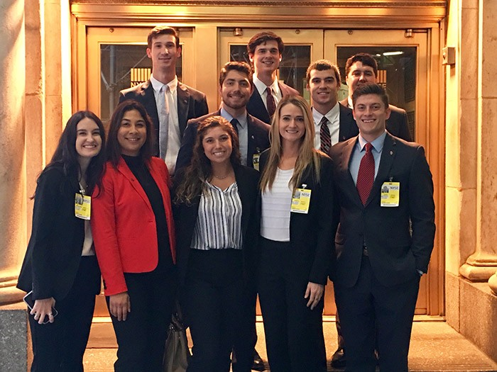 Energy Management students visit Wall Street