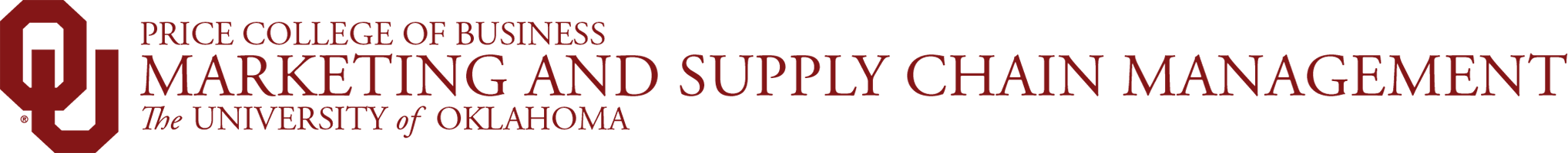 marketing and supply chain management wordmark