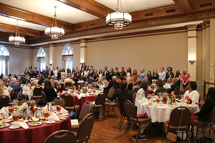 faculty gather at Accounting banquet