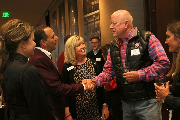Attendees gather at the 43rd annual red river reception