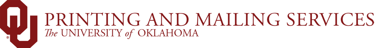 Printing and Mailing Services, The University of Oklahoma