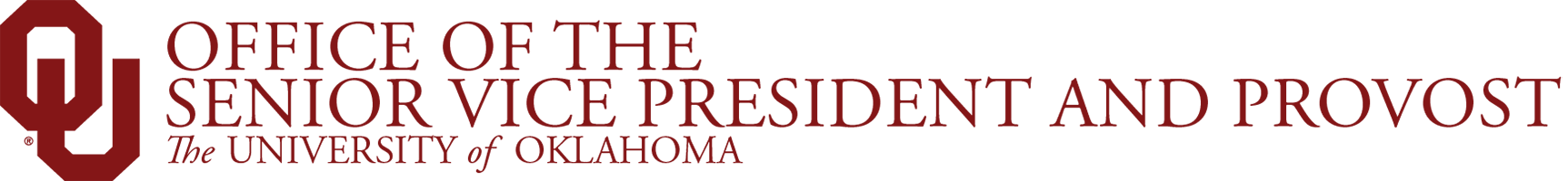 Office of the Senior Vice President & Provost Website