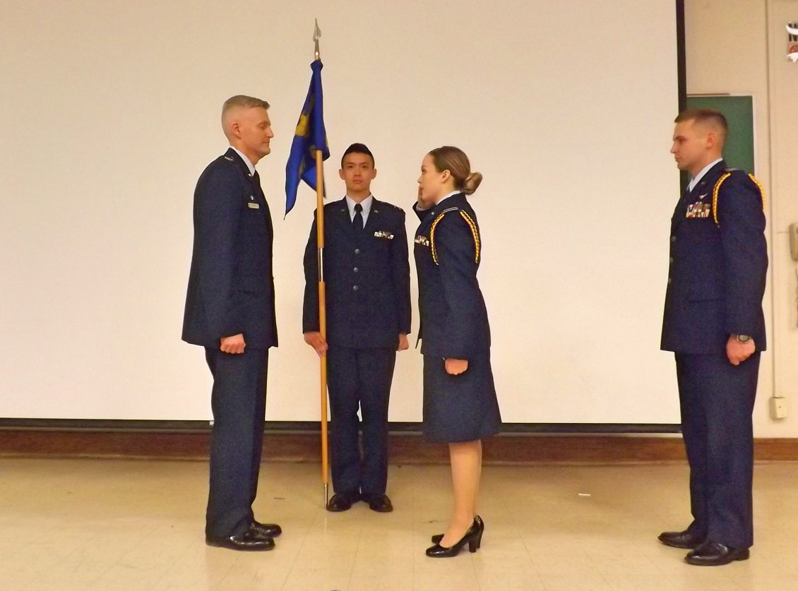 Cadet Wing Change of Command Parade
