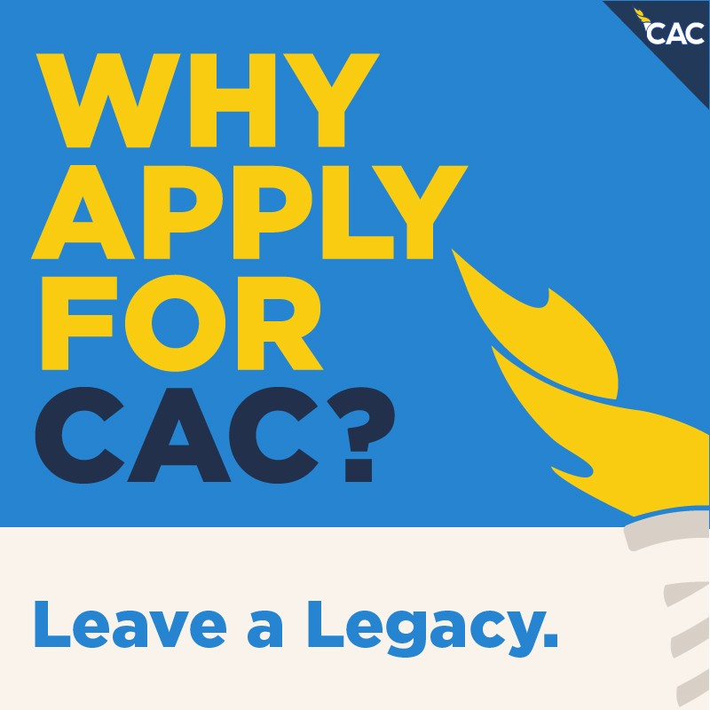 Why Apply For CAC? Leave a Legacy.