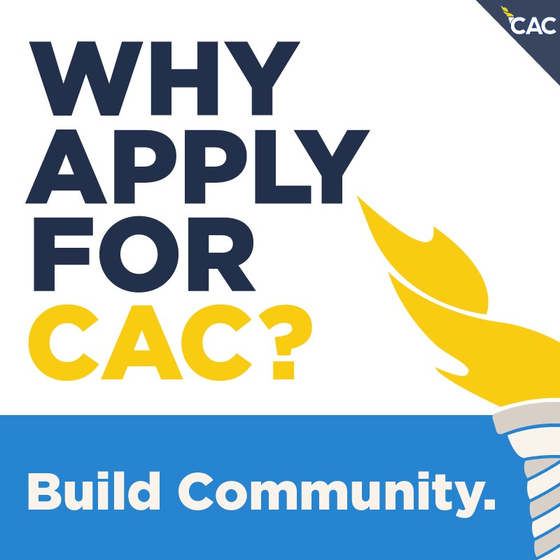 Why Apply For CAC? Build Community