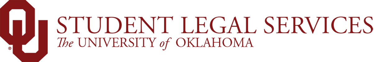 Student Legal Services, The University of Oklahoma website wordmark
