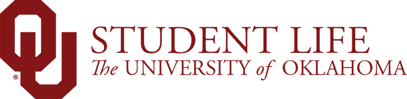 OU Student Life, The University of Oklahoma website wordmark