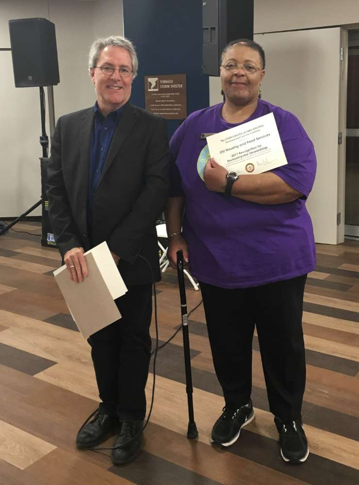 Housing & Food Services Accepts Award