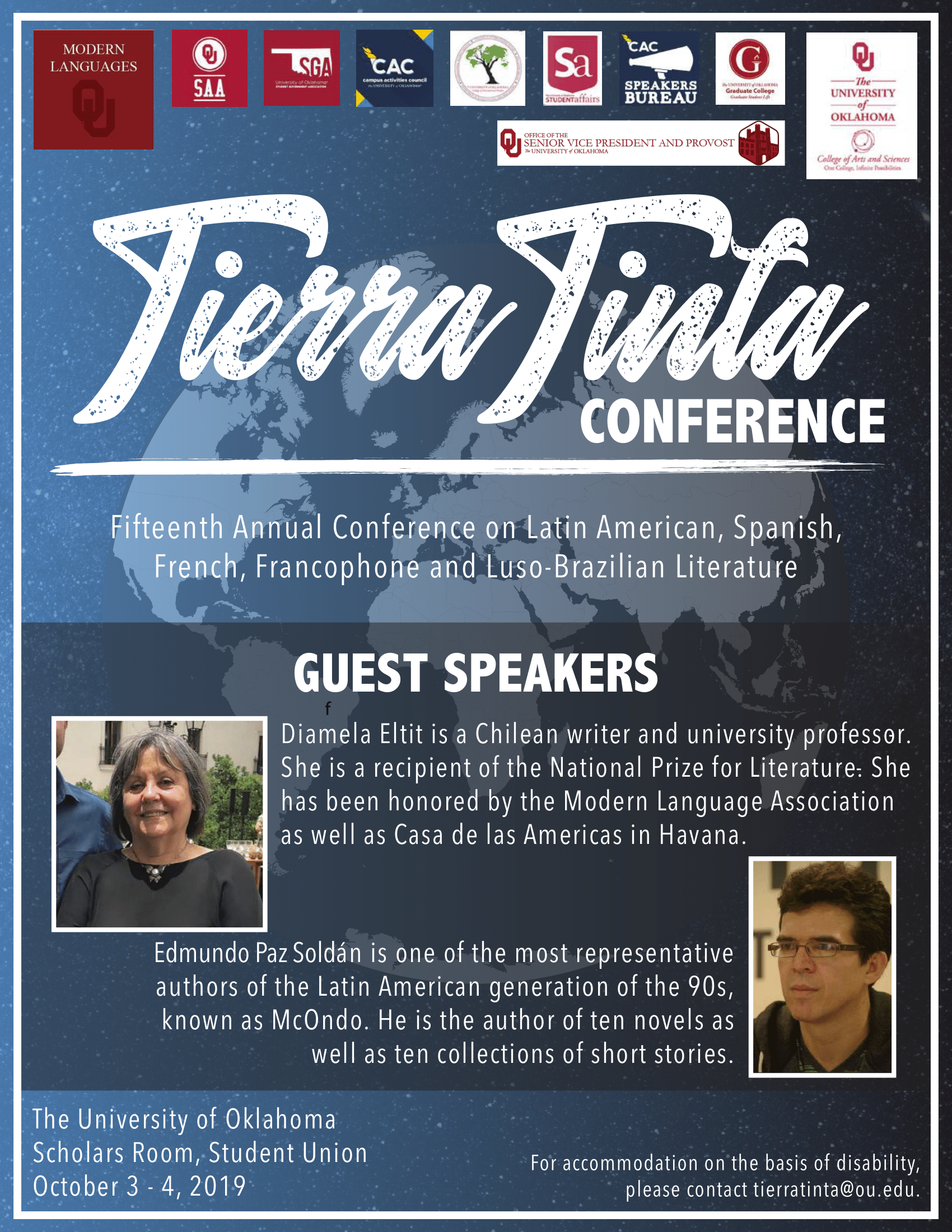 2019 Tierra Tinta Flyer,                          all information contained below.