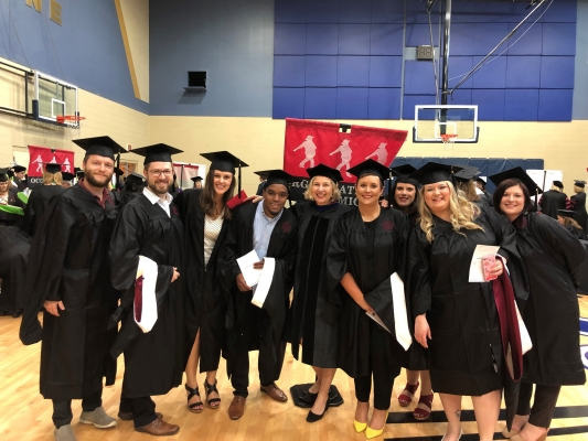 ODYN Students at Convocation Spring 2018
