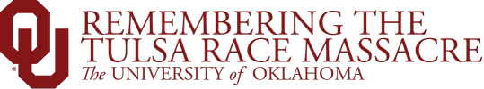 Remembering the Tulsa Race Massacre, The University of Oklahoma website wordmark