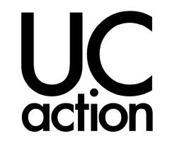 UC Action logo/facebook link