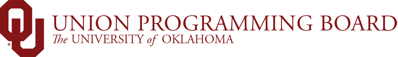 Union Programming Board, The University of Oklahoma website wordmark