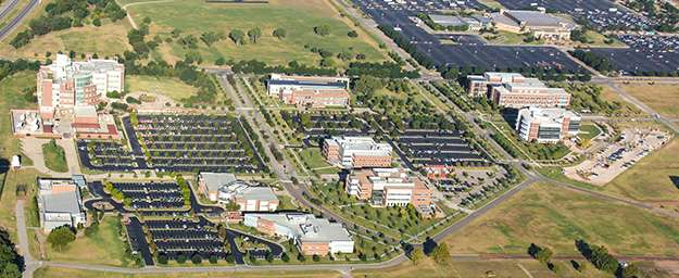 Arial photo of Research Campus