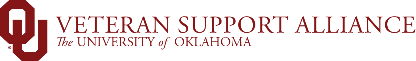 OU Veteran Support Alliance, The University of Oklahoma website wordmark
