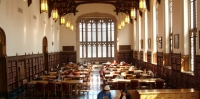 Great Reading Room in OU Bizzell Library.