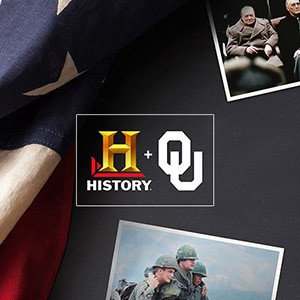 HISTORY Channel and OU promotional banner