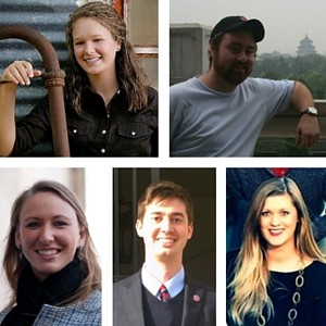 Five Fulbright grant recipients