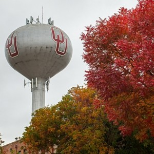 OU-watertower-in-the-fall