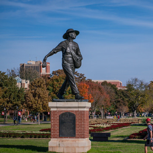 Image of the Seed Sower statue