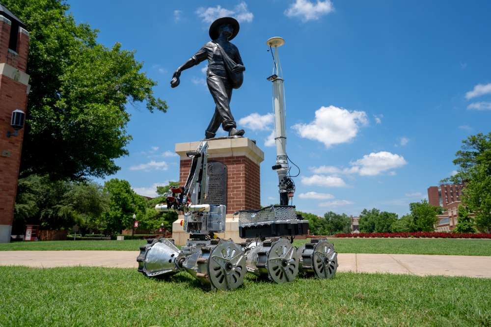 Rover on the South Oval