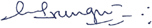 Jane Irungu signature