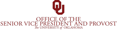 Office of the Senior Vice President and Provost wordmark